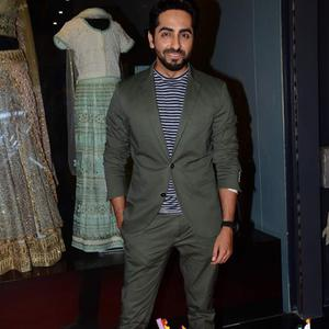 Ayushmann Khurrana Attend The Store Launch Of Amy Billimoria And Pankti Shah