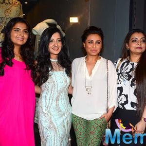Rani Mukherjee Launch Amy Billimoria's House Of Design Store