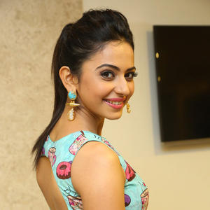 Rakul Preet Singh Sexy Back Pose Hot Look Still