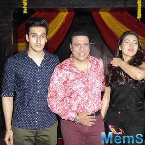 Dashing Guy To Govinda's Son Yashvardan And His Daughter Tine At Trailer Launch Of Second Hand Husband