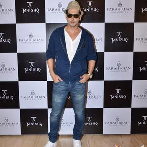 Zayed Khan Strikes A Pose At Sister Farah Khan Ali's New Collection Launch With Tanishq