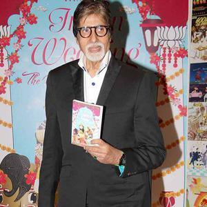 Amitabh Bachchan Unveiled Sakshi Salve Book 'The Big Indian Wedding'