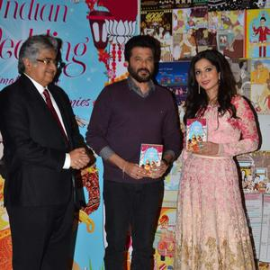 Anil Kapoor With Sakshi Salve And Her Father Harish Salve Posed With Book