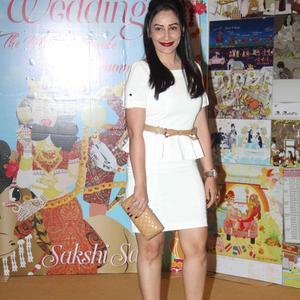 Manyata Dutt Glamour Look During The Launch Of Sakshi Salve Book