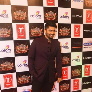 Arjun Kapoor Cool Smiling Pose At Suron Ke Rang Color Ke Sang Musical Event