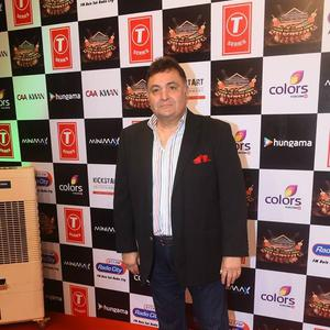Rishi Kapoor Attend The Suron Ke Rang Color Ke Sang Musical Event