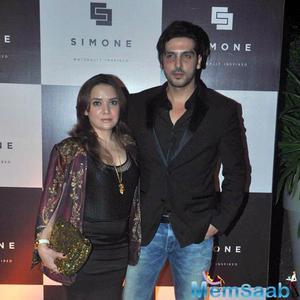 Zayed Khan And Wife Malaika Parekh Attend Simone Khan Arora Store Anniversary