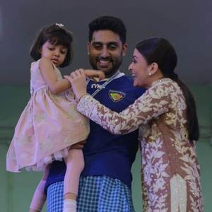 Abhi And Aish Share A Moment With Their Doll Aaradhya