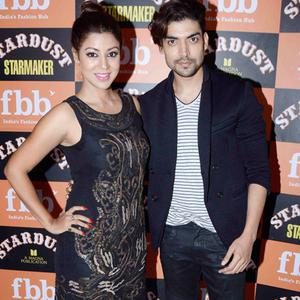 Debina Bonnerjee Posed With Hubby Gurmeet Choudhary At The Launch Of Stardust Starmaker