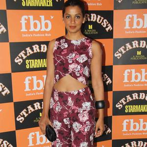 Mugdha Godse Posed At The Launch Of Stardust Starmaker