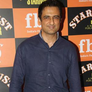 Sanjay Suri Smiling Pose During The Launch Of Stardust Starmaker