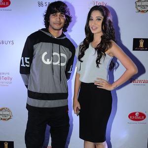 Shantanu Maheshwari Posed With Vrushika Mehta During The Telly Calendar Launch