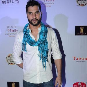 TV's Bad Boy Vikas Sethi Posed For Camera At The Telly Calendar Launch