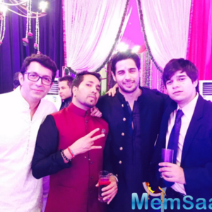 Sidharth And Mika Cool Pose For Camera