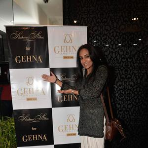 Suchitra Pillai At Shaheen Abbas Collection Launch In Gehna Store