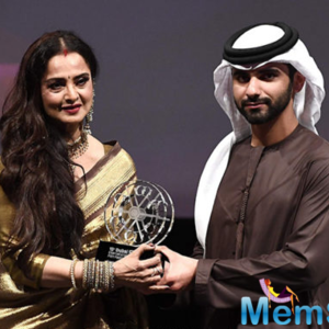 DIFF honoured Rekha with a Lifetime Achievement Award