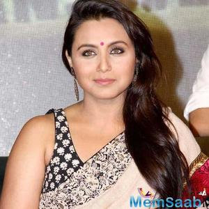 Rani Mukerji might just make her comeback with the SOTY actor Sidharth Malhotra