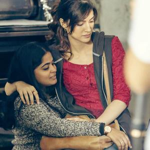 Behind pic: Kriti Sanon shares a photo of her sitting on director's lap