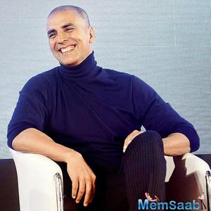 Find out here: Why Akshay Kumar is sporting a bald look