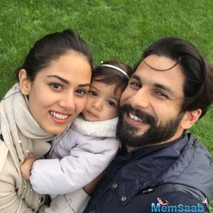 Shahid Kapoor feels his daughter Misha is trying to take away his shoes from him