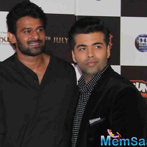 No bad blood with Karan Johar, says Prabhas