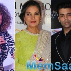 #MeToo: Kangana Ranaut lashes out at Karan Johar and Shabana Azmi