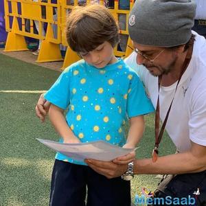 Shah Rukh Khan's photo with AbRam Khan describes their relationship