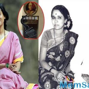 Amrita Rao conferred with Dadasaheb Phalke Excellence Award for 'Thackarey'