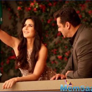Katrina Kaif and Salman Khan look adorable in this candid pic from Bharat promotions