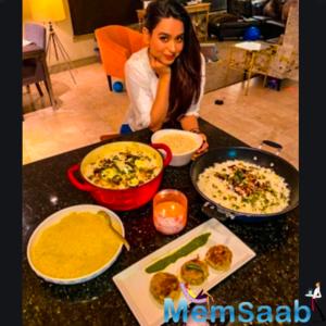 Soundarya Sharma prepares Eid delicacies in LA