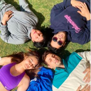 Kriti Sanon's sunbathing gives major holiday vibes