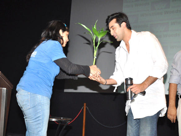 'Rockstar' Ranbir Visits WWI 1st session