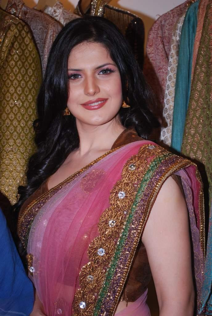 Zarine Khan at Veer Libas Collection Launch Slide Show