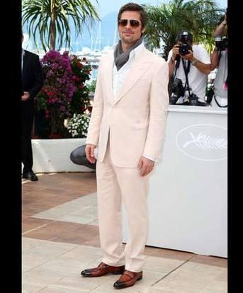 Brad Pitt Looking Very Handsome