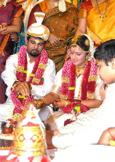 Picture of Rambha Weds Indra Kumar.
