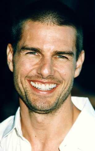 Tom Cruise Gorgeous Smile Photo