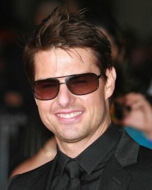 Tom Cruise Beauty Still Wearing Goggles