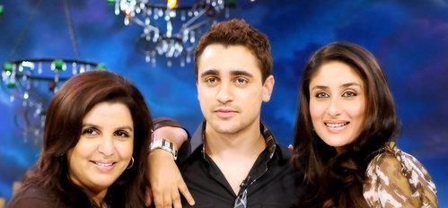 kareena kapoor imran khan and farah khan photos