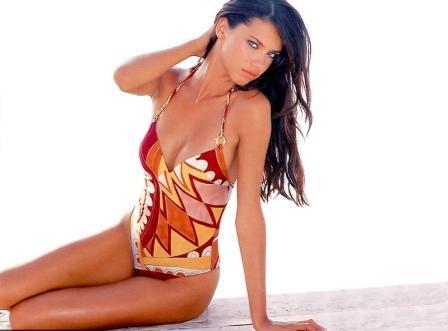 Adriana Lima  spicy pose photo shoot