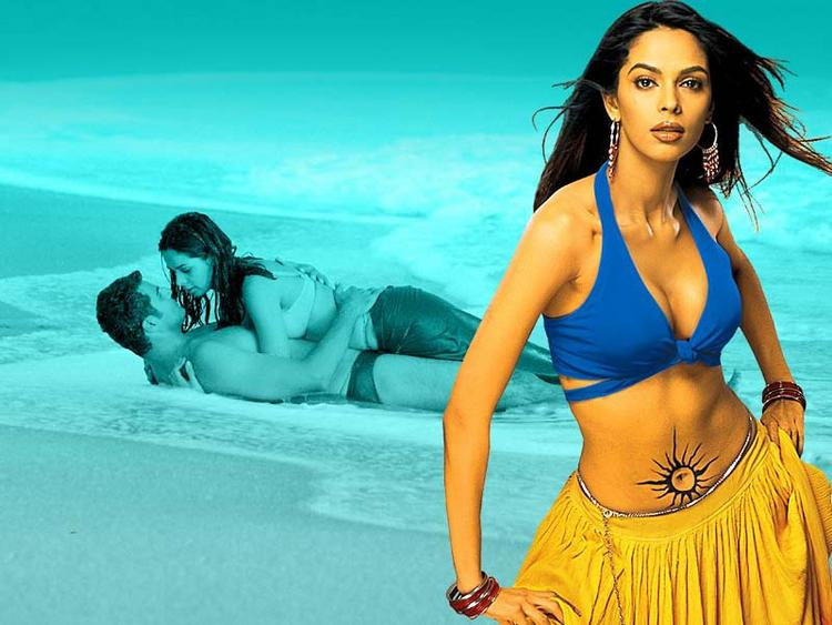 Spicy and hot Mallika Sherawat wallpapers