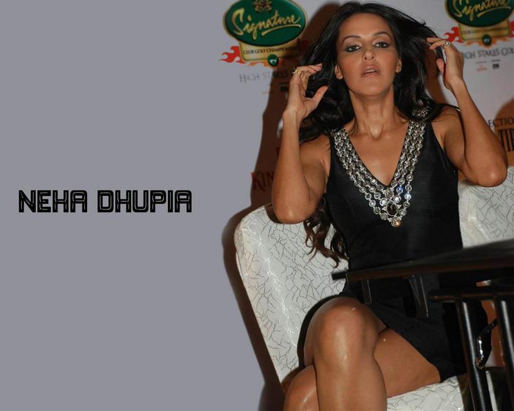 Neha Dhupia hottest wallpaper