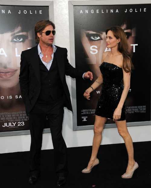 Angelina Jolie and Parker highest paid U.S