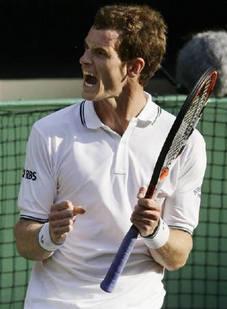 Andy Murray White T Shirt Hot Photo