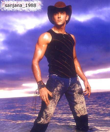 Hrithik Roshan wearing a Hat