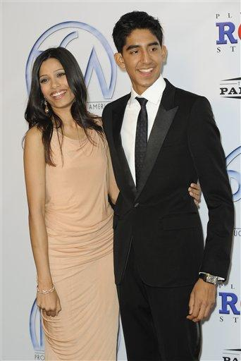 Dev Patel and Freida Pinto Beauty Still