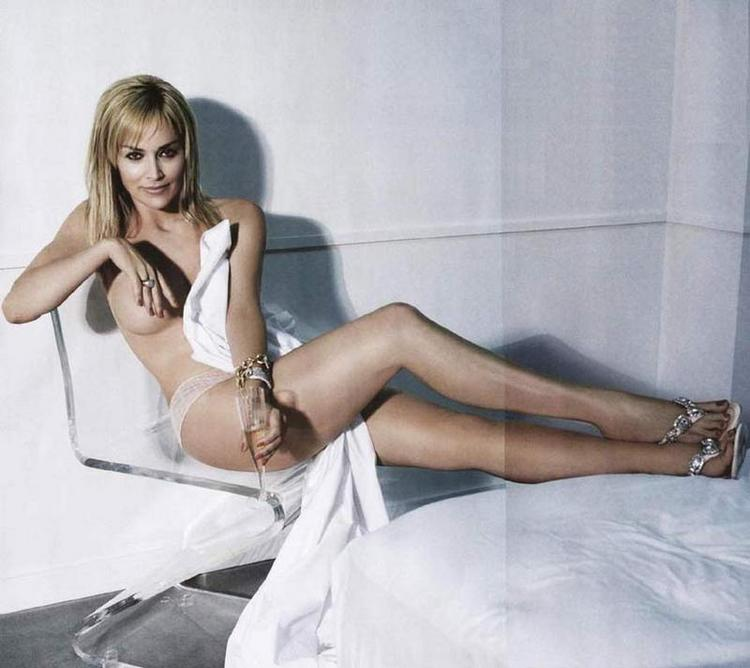 Sharon stone without dress latest still