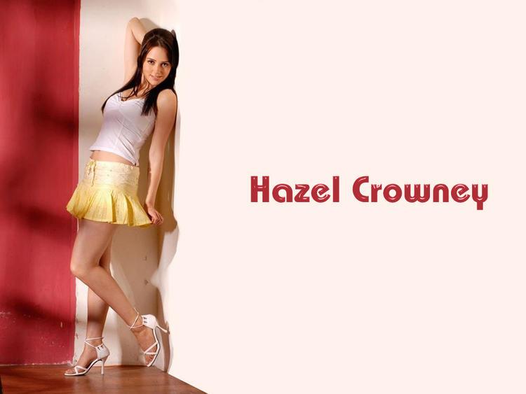 Hazel Crowney cute mini dress wallpaper