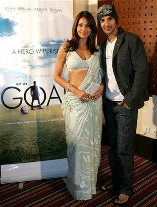 John Abraham and Bipasha hot still
