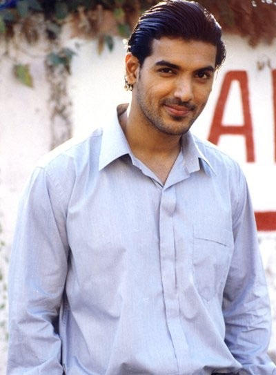 John Abraham looking very handsome