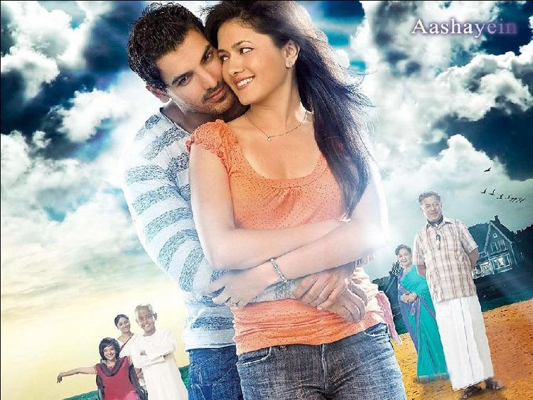 Sonal Sehgal with John Abraham in Nagesh Kukunoors Aashayein movie